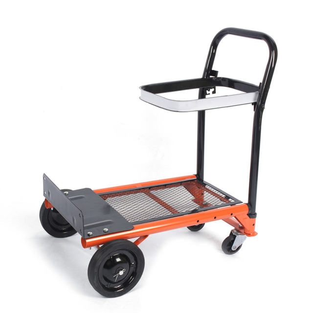 80kg heavy duty folding hand truck bag sack trolley barrow cart garden platform trolley home garden - Heavy Duty Hand Truck