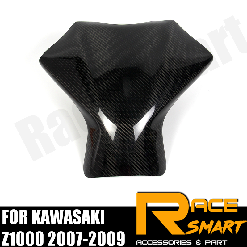 Carbon Fiber Tank Side Panels For Kawasaki ZX10R 2004-2005