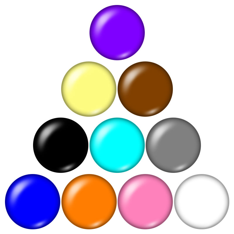 New Beauty Round Solid colors 10pcs mixed 18mm/20mm glass cabochon&snap buttons DIY jewelry wholesale ZB0571