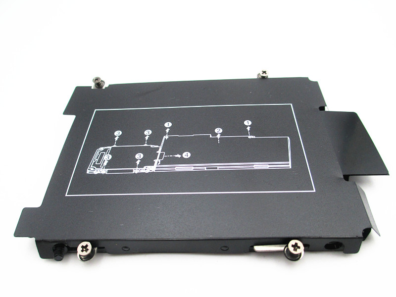 Ноутбук Hdd Caddy для HP EliteBook 720 725 740 745 750 755 820 840 850 G3 Zbook 14 15 17 15U G3 G4 Bracket 821665-001