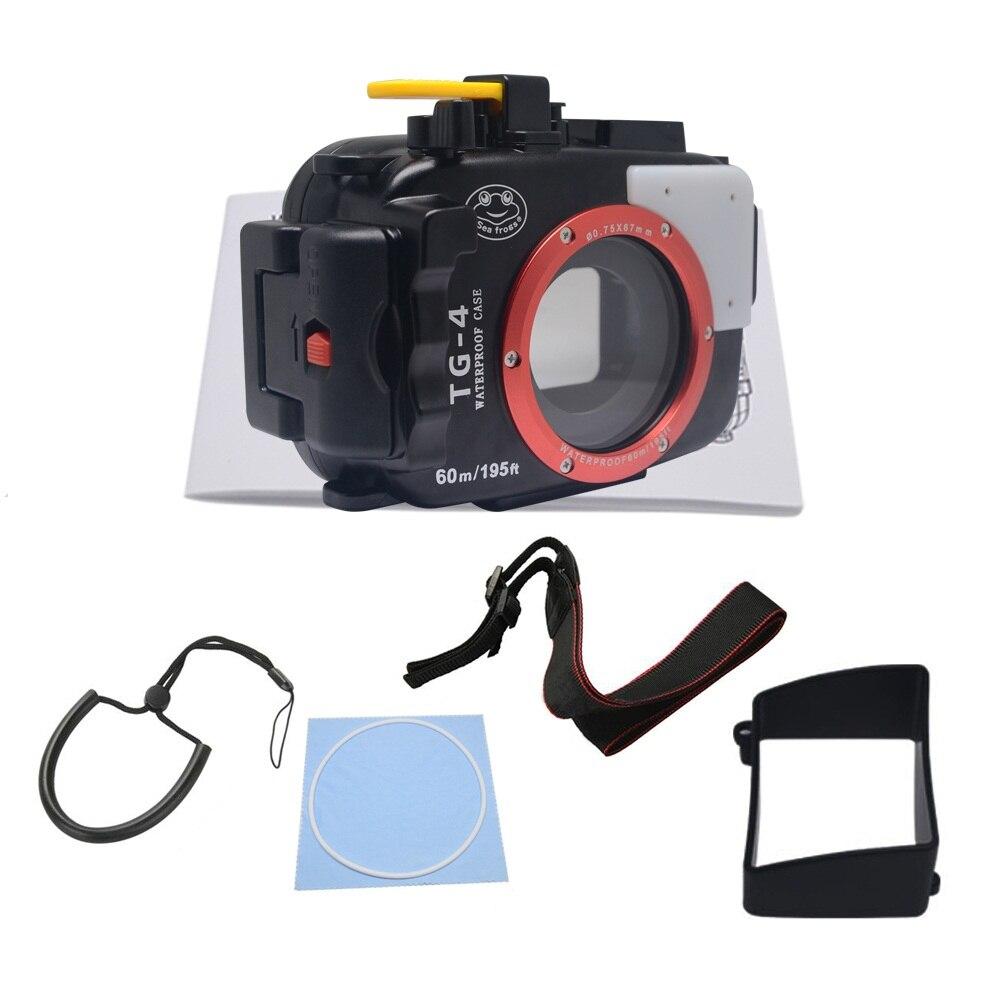 Mcoplus Waterproof case housing 40M Underwater Diving Waterproof Camera case for Olympus TG4 olympus creator soft case m черный