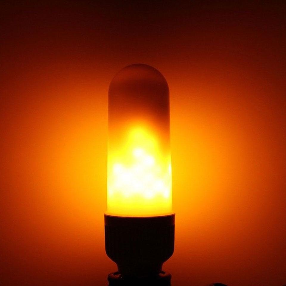 Lâmpadas Led e Tubos 2835 smd 99 leds lâmpada Features : Flame Fire Led Light Bulb