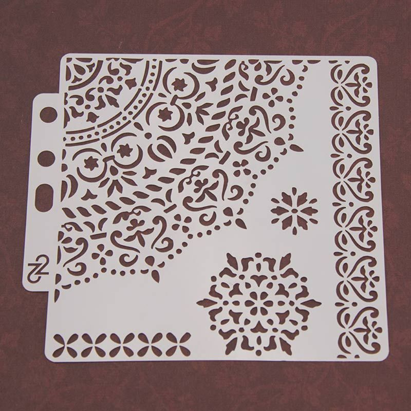 Stencils Template Wall Painting Scrapbooking Embossing Stamping Album Craft Card