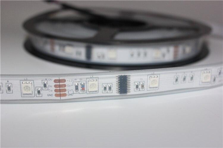 10 M 6803 LED RGB bande 150 LED 5050 numérique IP67 rêve magique couleur LED étanche bande + contrôleur RF6803 + alimentation 12V8A - 6