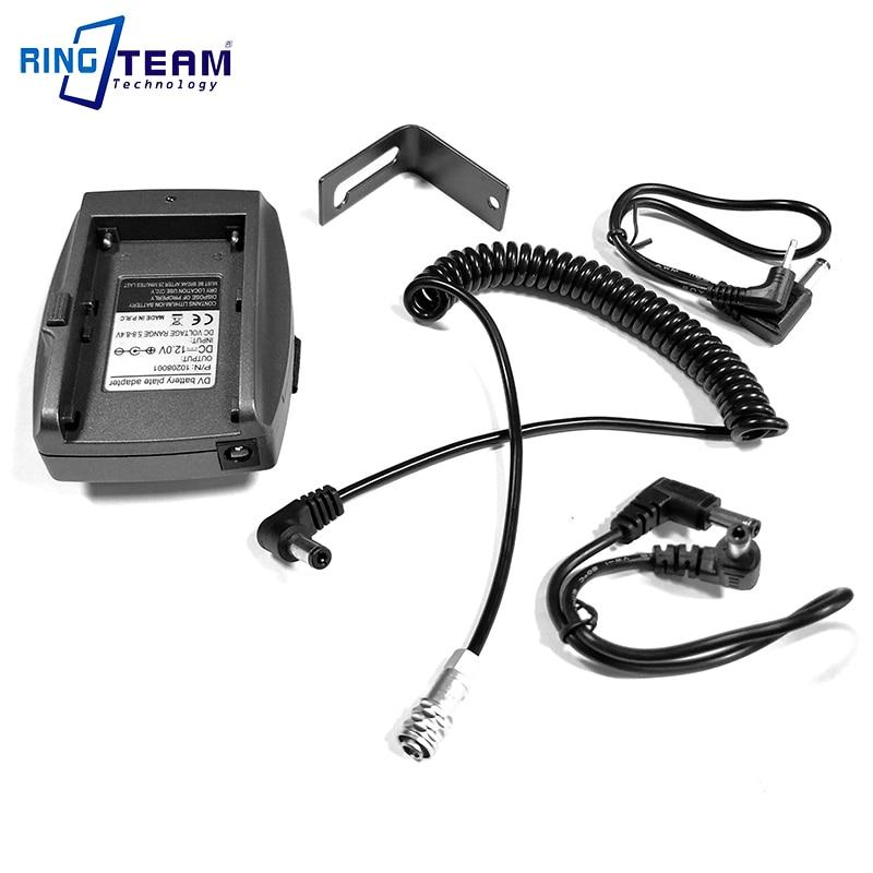 DC 12V NP-F Battery Power Supply System Mount Adapter Plate Holder For BMCC BMPCC 4K BMPCC4K Blackmagic Pocket Cinema Cameras 4K