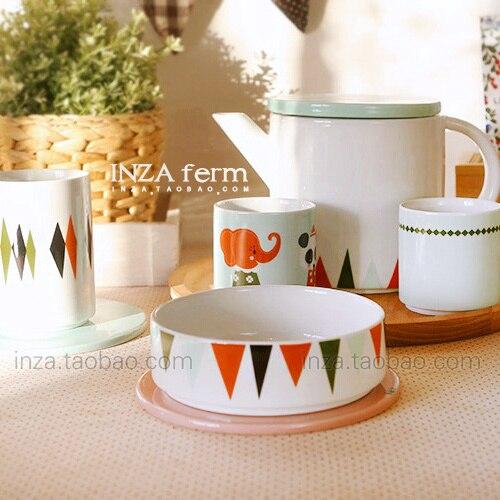 Sensation geometry. Japanese ceramic cup lovers elegant style high tea coasters cup dessert plate cutlery & Sensation geometry. Japanese ceramic cup lovers elegant style high ...