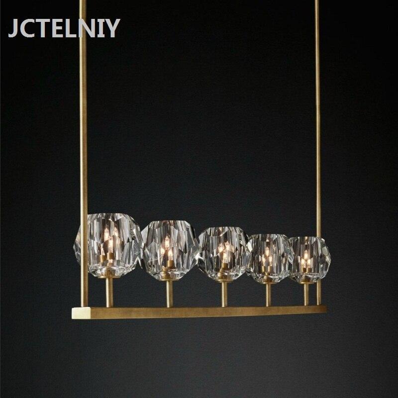 Long Dining Room Chandeliers: Aliexpress.com : Buy Modern Crystal Long Dining Room