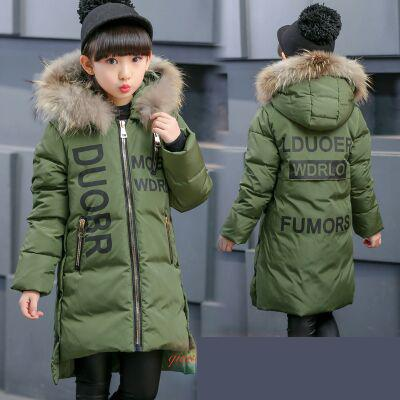 High Quality 2018 New Winter Girls Hooded Jacket Zipper Winter Coat For Girls Kids Padded Jacket Casual Childrens Outerwear 12High Quality 2018 New Winter Girls Hooded Jacket Zipper Winter Coat For Girls Kids Padded Jacket Casual Childrens Outerwear 12