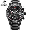 CADISEN Brand Sports Watches Men Popular Luxury Military Watch Men Fashion Waterproof Relogio Masculino 2017 Male Men Clock Date