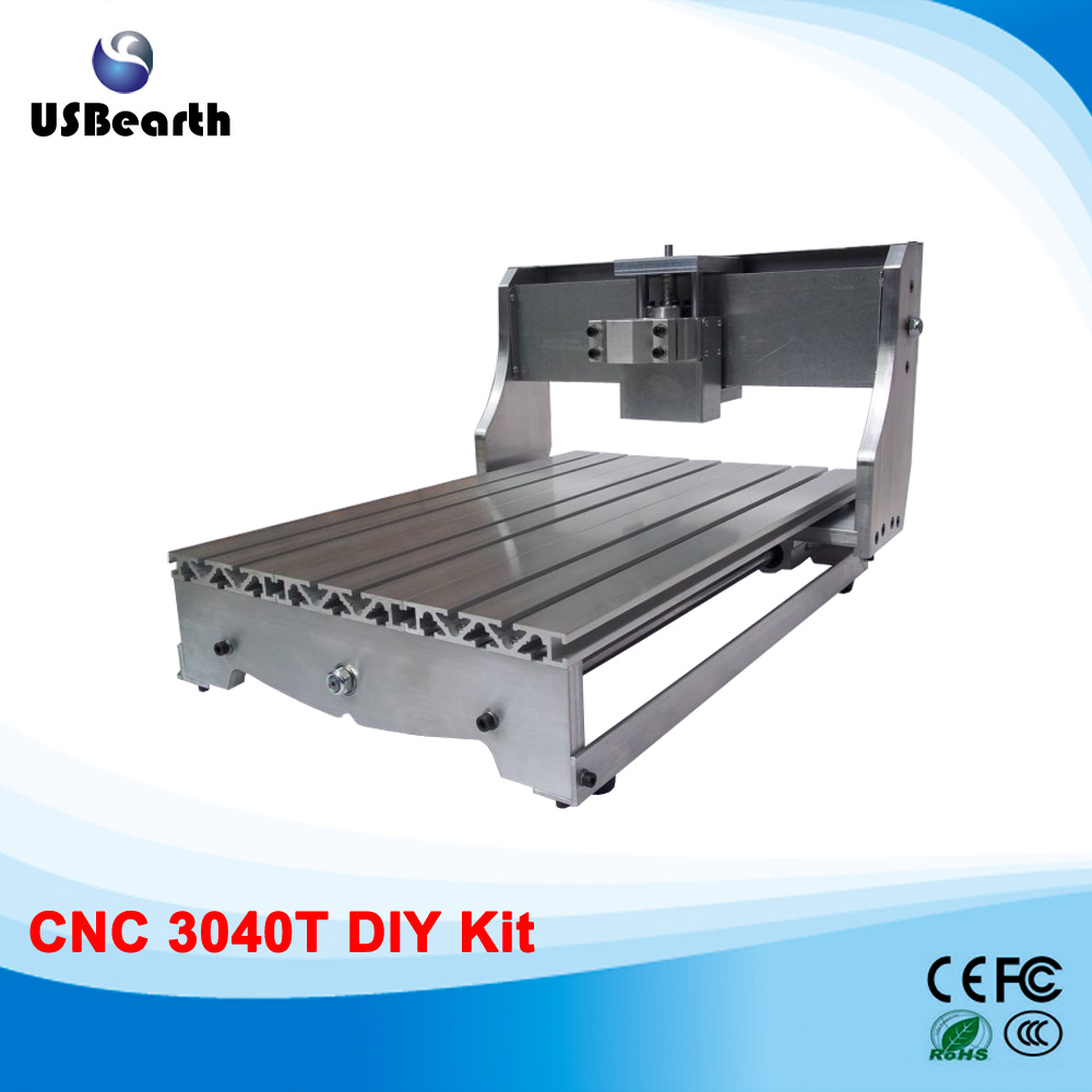 DIY CNC engraving machine frame, CNC machine frame suitable for 4030T eur free tax cnc 6040z frame of engraving and milling machine for diy cnc router