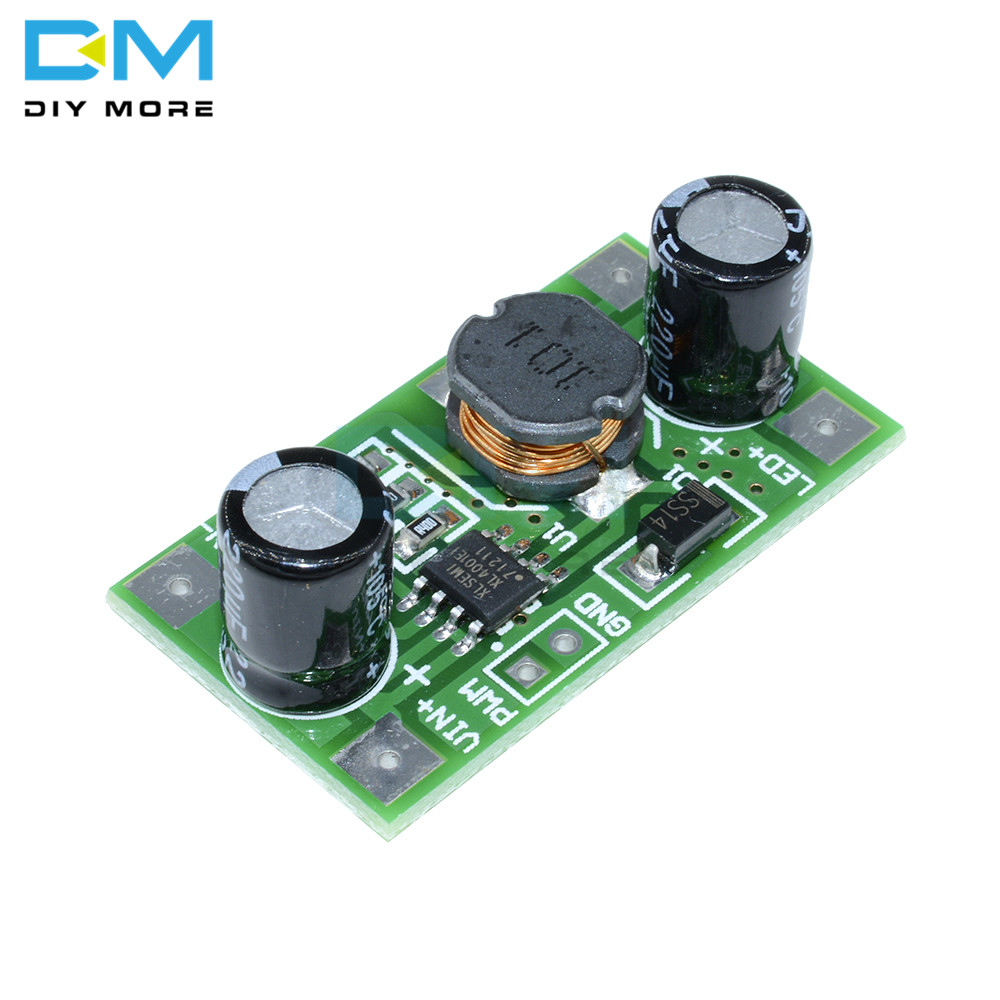 <font><b>3W</b></font> 5V - 35V <font><b>700mA</b></font> <font><b>LED</b></font> Driver Module PWM Dimming DC to DC Step-down Constant Current Board <font><b>LED</b></font> For Arduino DIY KIT Wide Voltage image