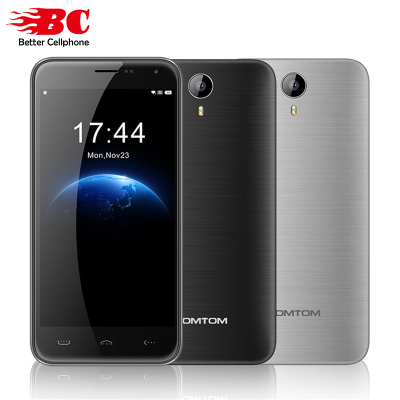 Original HOMTOM HT3 GSM WCDMA MTK6580A Quad Core1 3GHz 5 0 HD 720P Android 5 1