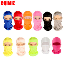 Hot Selling Motorcycle Cycling Ski Neck Protecting Outdoor Balaclava Full Face Mask Ultra Thin Breathable Windproof
