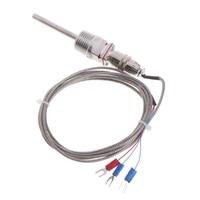 RTD Pt100 sıcaklık sensörü probu L 5cm 1/2