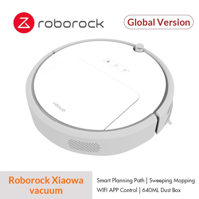 Nouveau Mondial Roborock Xiaowa Robot Aspirateur 4 pour Xiaomi Mijia Maison Automatique Vadrouille Balayage Poussière Smart Prévues App À Distance