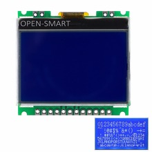 3.3V 1.8 128×64 LCD Display Breakout Module w/ Blue Backlight / White Character for Arduino