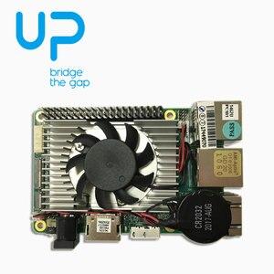 Image 4 - 1 قطعة x Up لوحة إنتل X86 حجم بطاقة الائتمان مجلس الكمبيوتر للصناع مع X5 8350 ذرة رباعية النواة