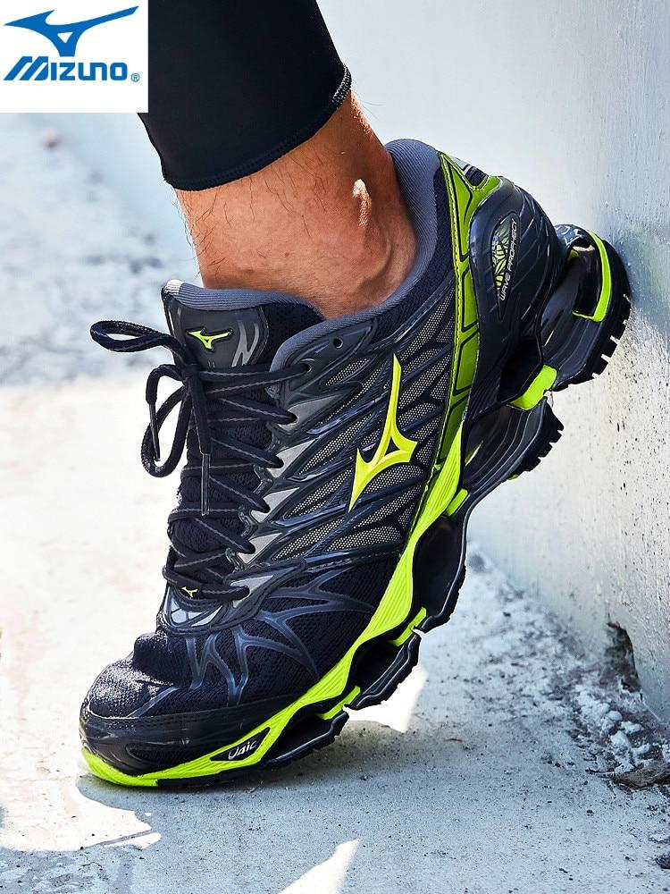 Оригинальный Mizuno Prophecy 7 для мужчин волна подушки спортивная обувь zapatos de hombre дышащая мужская обувь спортивная Тяжелая атлетика обувь
