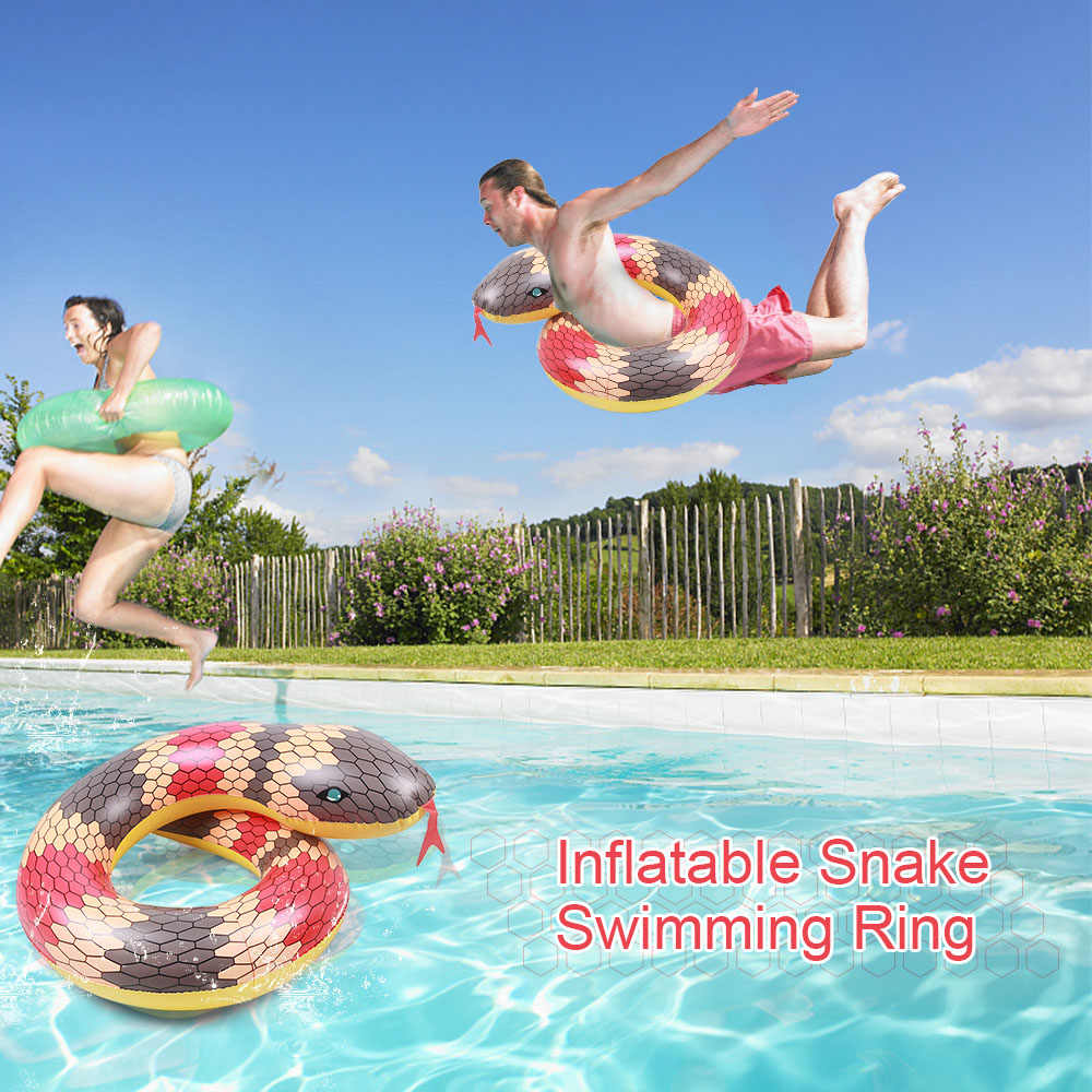 Высокое качество надувной бассейн кольцо змея плот бассейн Лето Плавание игрушки поплавок плавать игрушка праздник воды весело пляжный Brinquedsos
