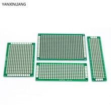 4pcs 5×7 4×6 3×7 2×8 cm Free shipping double Side Copper prototype pcb Universal Board electronic diy kit PCB