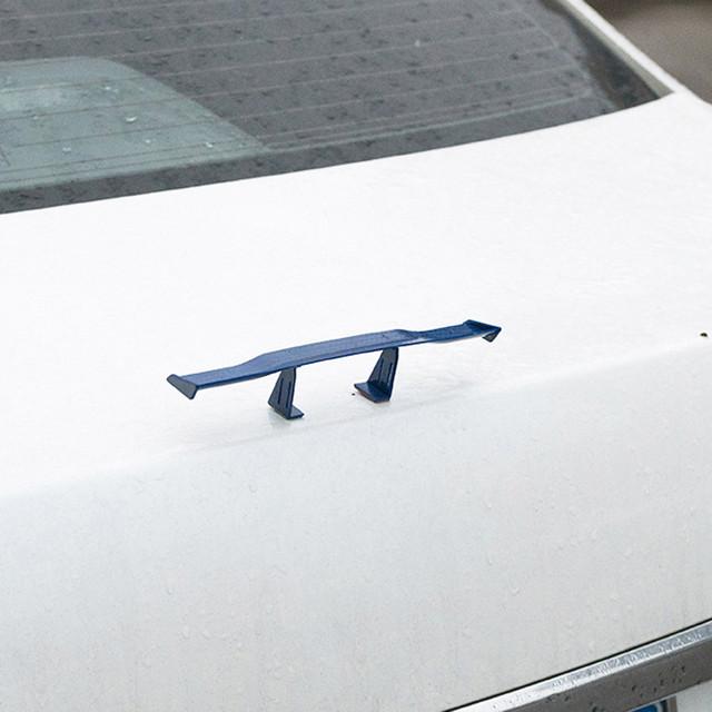 Car-styling 6.7inch Universal Car Tail Wing Carbon Cheap Spoiler Mini Auto Fiber Decoration td1020 Dropship