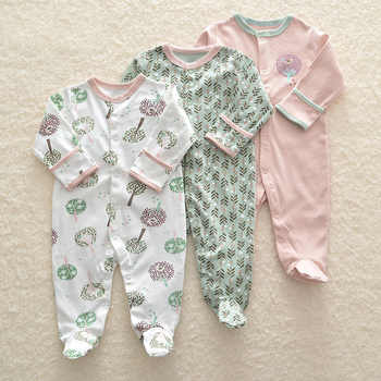 3Pcs Newborn Baby Girl Romper Winter Baby Boy Jumpsuit Clothes 100% Cotton Underwear Rompers Clothing Baby Rompers Warm Costume - DISCOUNT ITEM  24% OFF All Category