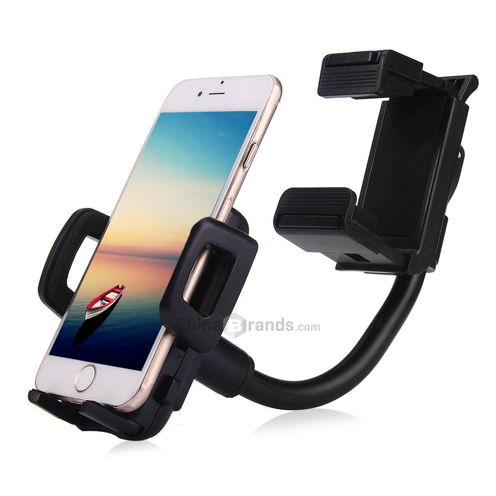 Car rearview mirror mount holder car reviews - 360 Rotatory Car Rearview Mirror Mount Cradle Kit For Cell Phone Gps China