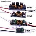Светодиодный драйвер DC12V-24V 10 Вт 20 Вт 30 Вт 50 Вт высокой мощности Светодиодный драйвер питания постоянного тока светодиодные чипы Светодиодны...