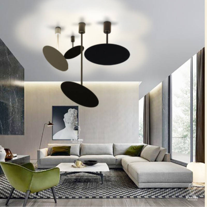 Nordic Modern LED Seedlings Dining Room Pendant Light Geometric Bedroom / Foyer Decoration Lamp Free Shipping modern pendant lamp vintage lamp foyer pendant light loft lamp dining room lamp free shipping