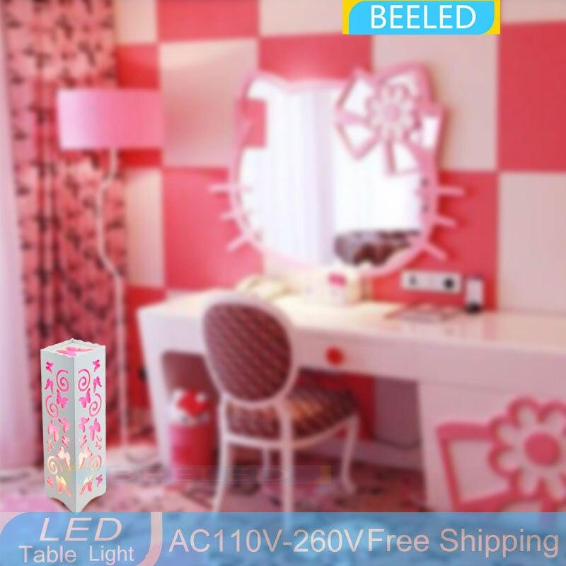 Living Room Bedroom 110V 220V desk light Modern Lamp LED table lamp ...