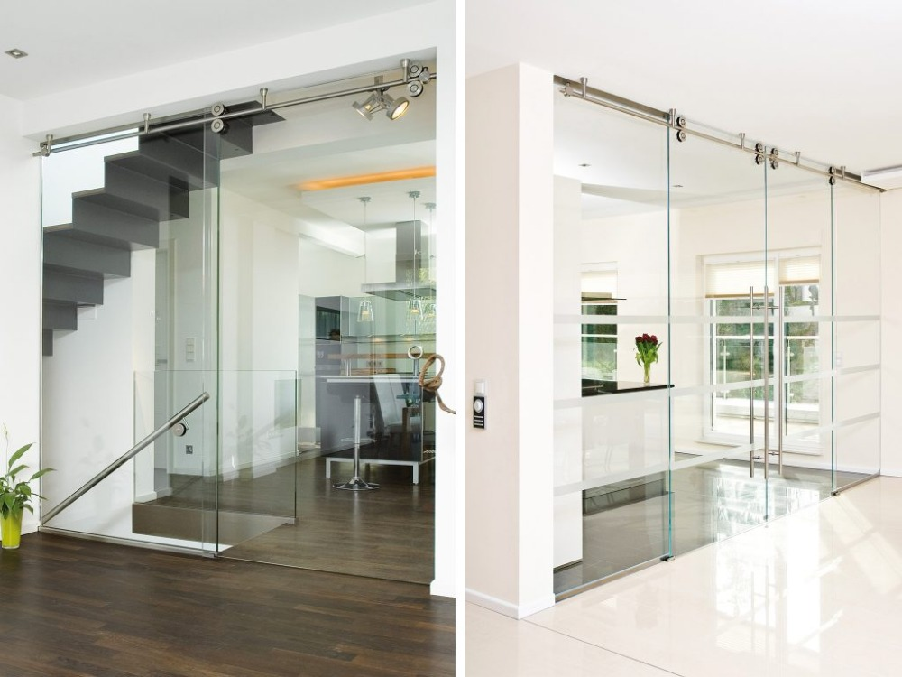 KIN MADE Free shipping+Ceiling mounted sliding glass partition door full set hardware-in Doors from Home Improvement on Aliexpress.com   Alibaba Group & KIN MADE Free shipping+Ceiling mounted sliding glass partition ... Pezcame.Com