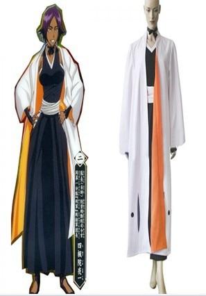 Bleach Yoruichi Shihouin Cosplay Costume on Aliexpress.com ...