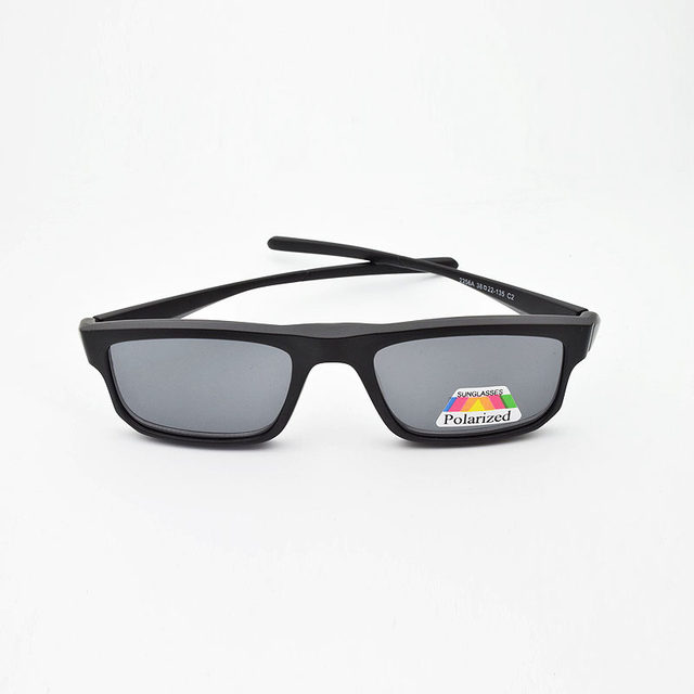 5501f592b1 Full Frame Male Sports Style Eyeglasses Frame With Magnet Clip Ultra-light  3D Glasses Polarized Sunglasses Night Vision Goggles