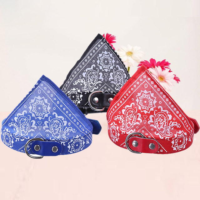 Puppy Dog Collars Products Pets Cat Collars Safety PU Leather Buckle Cute Cat Crystal Collar Soft Necklace Pets Accessories