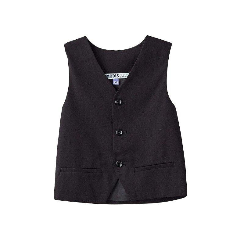 Vests & Waistcoats MODIS M182K00058 for boys kids clothes children clothes TmallFS vests