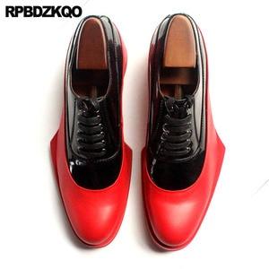 Image 2 - Włochy włoski prawdziwej skóry Runway mężczyźni czarno białe buty sukienka wysokiej jakości skóra bydlęca marki oksfordzie Prom duży rozmiar europejski
