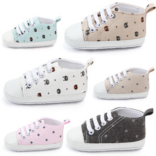 AiKway Baby Shoes First Walkers Boy Girl Canvas Newborn