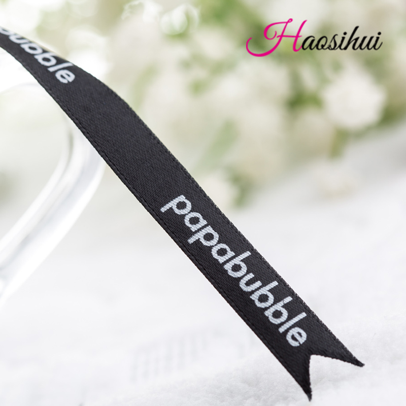 Free Design 3/4''(19mm) Wholesale Ribbon Custom Logo DIY Printing Satin Ribbon Wedding & Personalized Logo Brand 100yards/lot