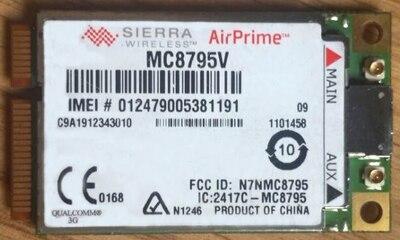 Haben Sie Einen Fragenden Verstand Freies Schiff Sierra Wireless Mc8795v Mini Pci-e 3g Quad-band Hspa Wwan Wlan Wifi Karte Gps Für Laptop Notebook Original