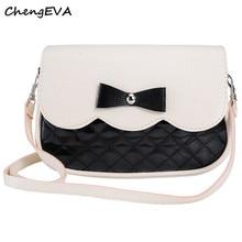 ChengEVA 1 STÜCK Bowknot Mode Crossbody-tasche Mode Marke Heißer Verkauf Attraktive Elegante Damenmode November 15