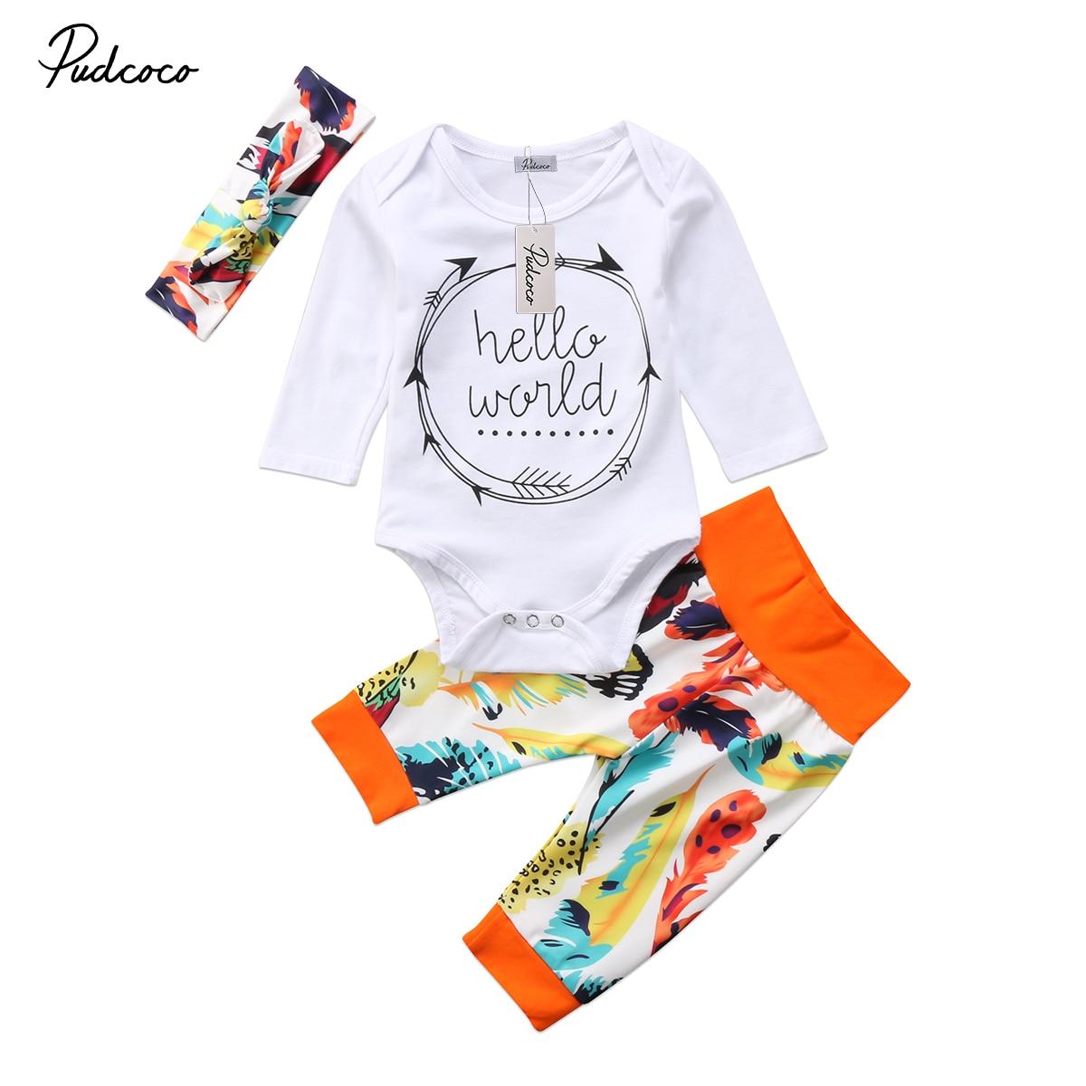 Friendly Pudcoco Newborn Baby Girl Short Sleeve Watermelon Print T Shirt Clothes Tops shorts Kids Girls Summer 3pcs Outfit Set Girls' Baby Clothing