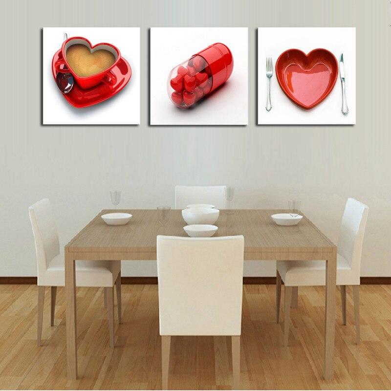 Frameless Modern Cartoon Chefs Canvas Prints Restaurant: Popular Coffee Canvas Art-Buy Cheap Coffee Canvas Art Lots