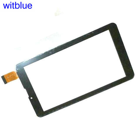 Witblue New Touch screen Digitizer For 7 Supra M74MG 3G M74NG M74DG Tablet panel Glass Sensor replacement witblue new touch screen digitizer for 7 bq 7008g 3g bq 7008g tablet capacitive panel glass sensor replacement free shipping