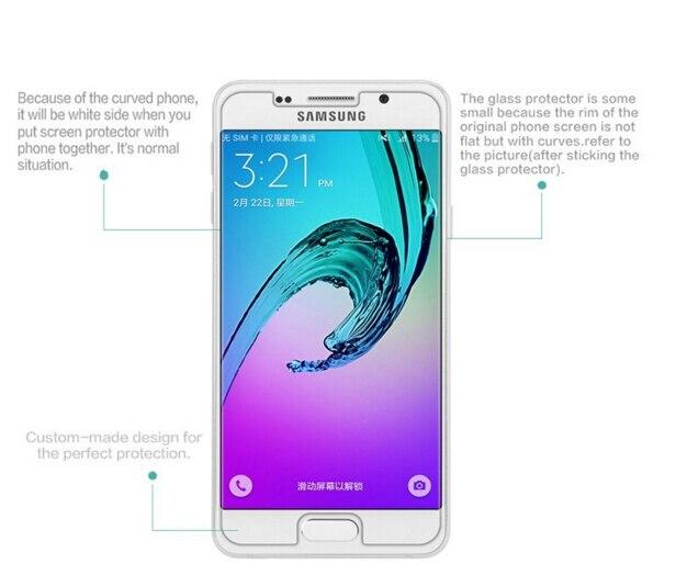 SM-A510F Kaca Perlindungan Untuk Samsung A5 2016 Filem Kaca Tempered - Aksesori telefon bimbit dan bahagian - Foto 3