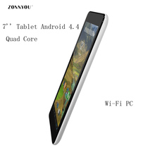 7 Inch Tablet PC Quad Core 512MB di Ram; 8GB Rom HD Google Play Android 4.4 Tablet PC+Keyboard