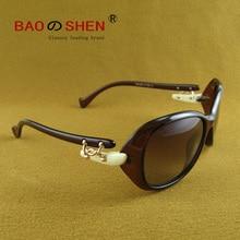 Retro sunglasses ladies polarized  driving tide UV protection glasses round face big outdoor beautiful