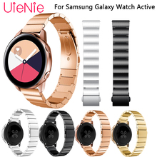 20mm Width Metal stainless steel Strap For Samsung Galaxy Watch Active Band Wristband for Samsung Gear S2 Watch Band bracelet все цены