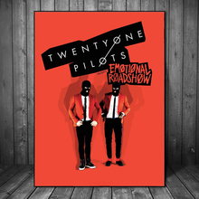 Twenty One Pilots Emotional Roadshow HD Art Canvas Poster Painting Wall Picture Print Modern Home Bedroom Decoration Accessories
