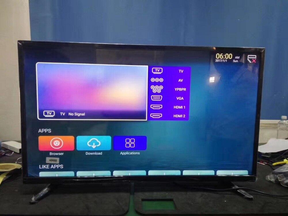 Настроить 55 60 65 70 75 дюймов HDMI 1080 p подсветка умного Wi Fi ТВ HD IPS на тонкопленочном транзисторе сети светодиодный телевидения ТВ