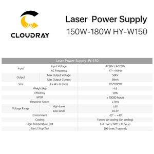 Image 5 - Cloudray 150 180W CO2 เลเซอร์แหล่งจ่ายไฟสำหรับ CO2 เลเซอร์แกะสลักเครื่อง HY W150 T/W